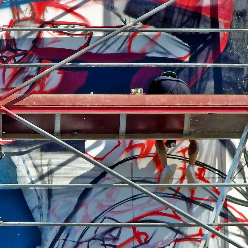 Insane 51 – Berlin Mural Festival – aligning Colors – Streetart – FOTOROTO